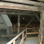 Im Dachstuhl des Schönbrunner Orangeriegebäudes