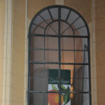 Fenster des Orangeriegebäudes