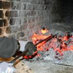 Brennkammer der Rauchkanalheizung